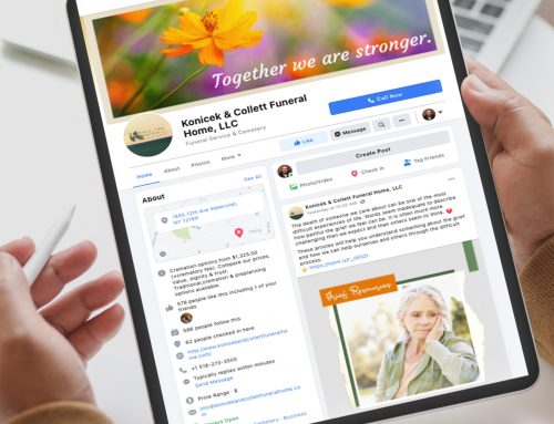 Konicek & Collett Funeral Home – Facebook Marketing